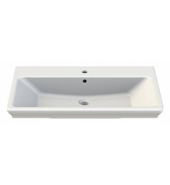 Мебель для ванной комнаты Sanstar Лира 80, 2/ящ, белый - купить в ... | 706x648