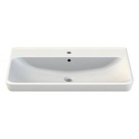 CeraStyle Belo 81 см Умывальник (Раковина) Прямоугольная Белая