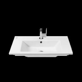 CeraStyle Arte 75 см Умывальник (Раковина) Прямоугольная Белая