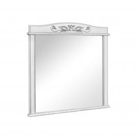 Зеркало Аква Родос Микела 100 см белое