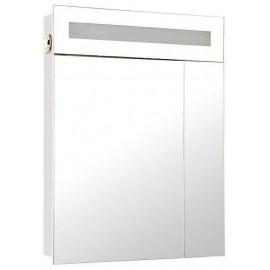 Зеркальный шкаф Аква Родос Ника 60 см с подсветкой