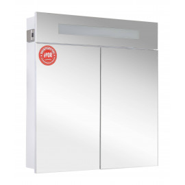 Зеркальный шкаф Аква Родос Ника 75 см с подсветкой
