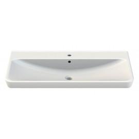 CeraStyle Belo 96 см Умывальник (Раковина) Прямоугольная Белая