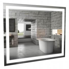 Зеркало Аква Родос Альфа 100 см с LED подсветкой