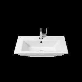 CeraStyle Arte 65 см Умывальник (Раковина) Прямоугольная Белая