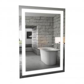 Зеркало Аква Родос Альфа 60 см с LED подсветкой