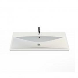 Aqua Rodos Elite 100 см Умывальник (Раковина) Прямоугольная Белая