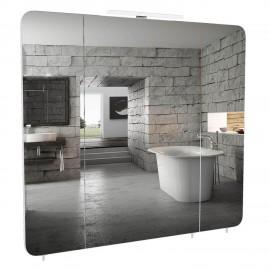 Зеркальный шкаф Аква Родос Рома 85 см