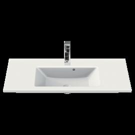 CeraStyle Arte 100 см Умывальник (Раковина) Прямоугольная Белая