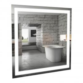 Зеркало Аква Родос Альфа 80 см с LED подсветкой